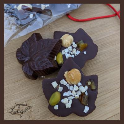 visuel des produits de la chocolaterie