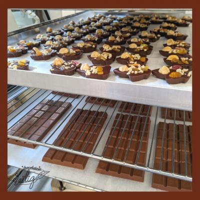 visuel de la préparation chez chocolaterie maelig