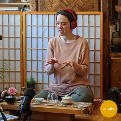 Presenting tea meditation post
